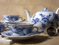 set of china dishes
