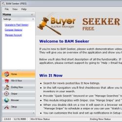 BAM Seeker Screenshot